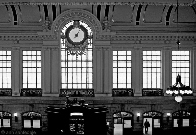 Hoboken train station - April, 2012