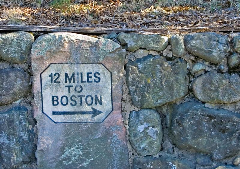 Twelve MIles to Boston