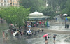 Rainy Summer Day at Union Square