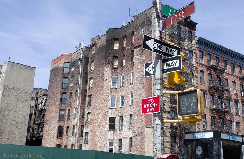 Twenty-one days after the explosion and fire in the East Village