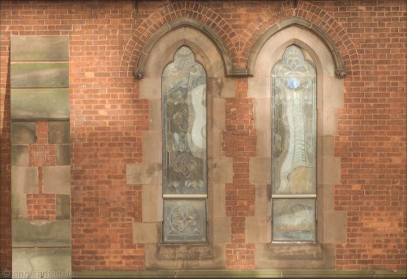 Church windows - Roosevelt Island Octrober, 2015