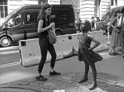 Fearless Girl Observed