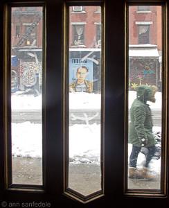 through the front Door