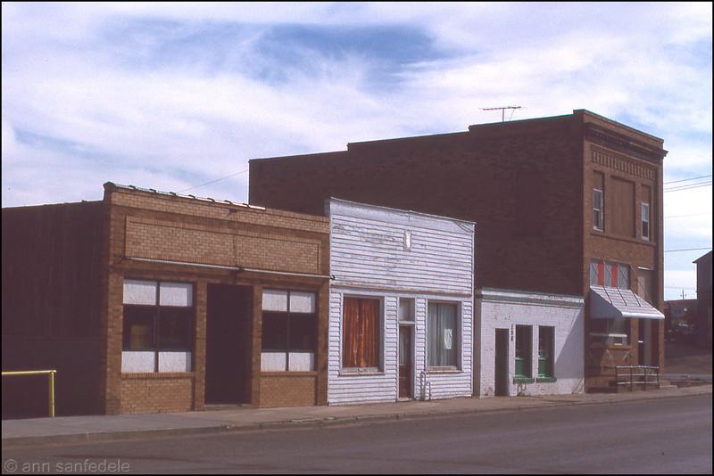 Belfield, North Dakota 1989