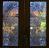 Stained Glass Partition in U of Penn Library