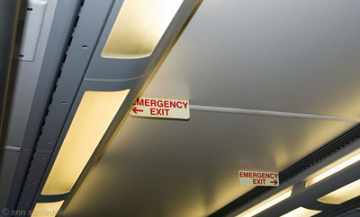 Emergency Exit on New JErsey Transit