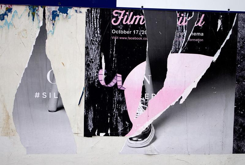 Torn Film - found art series