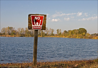 ( Positively) No Swimming!