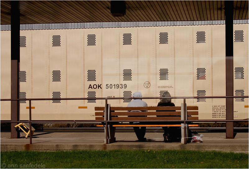 A OK - Amtrack station in Buffalo, NY