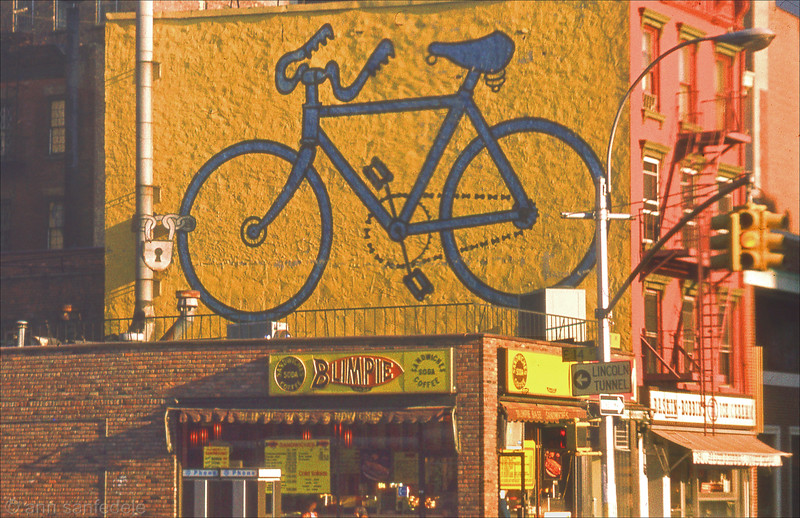The bike shop - 14th and 1st  ave dec 1977