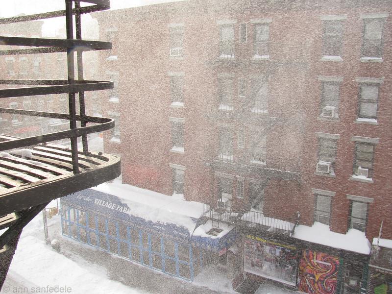 Blowing Snow  Dec 27 - 10 am
