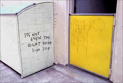 Not the Right Door