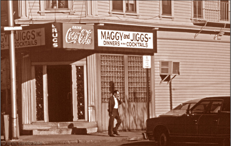 Maggy and Jiggs Dinners - Providence, Rhode Island  1981.