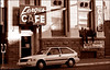 Another bank turned café is this one in Lewiston, Id.  Photo taken in<br /> August of 1988.  But unlike Evett's in New Mexico, the Fergus is no more.