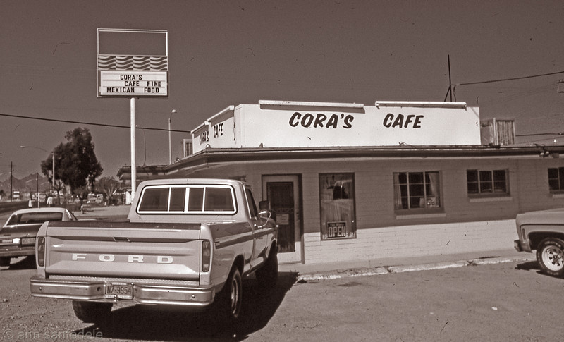 Cora's cafe in Tucson