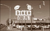 Lester's Diner - Bryan, Ohio - October 1993. Don't think I ate here, had to take the photo for a friend of the same name whose wife is a fabulous cook.