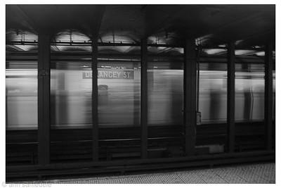 Delancey St. station