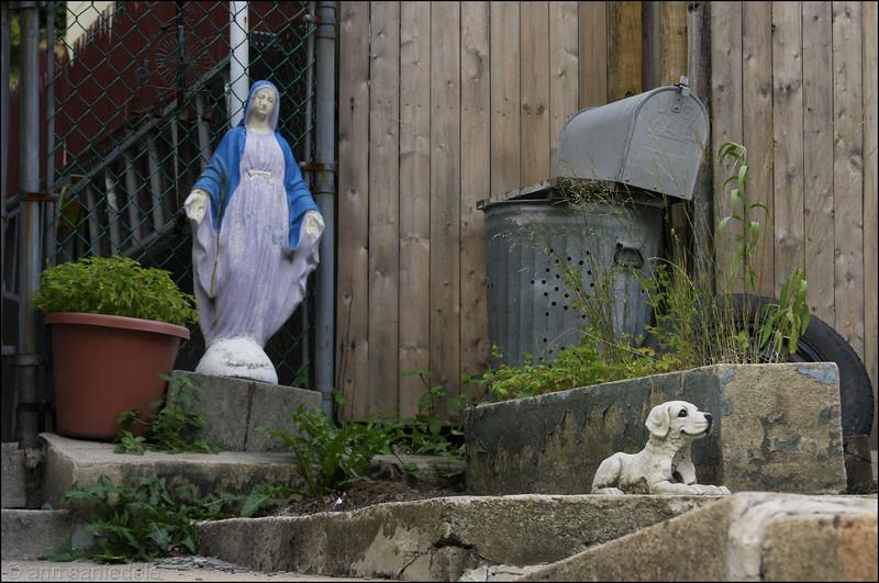 Mary and Dog