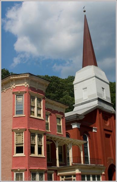 Buildings on Main street