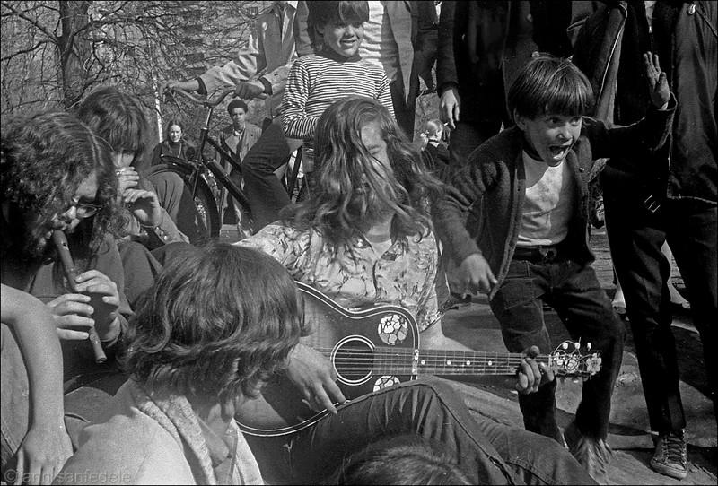 Jammin' in Central Park  - September  1968