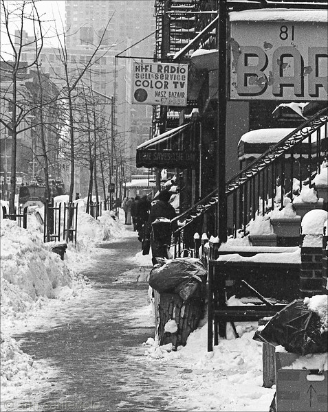 7th St - Bar 81  February 1978 Blizzard
