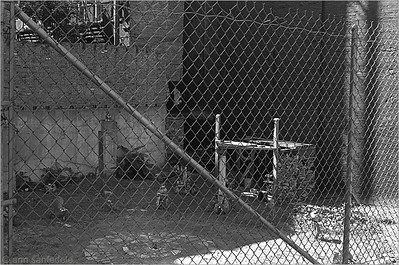 Housing solution or art? 3rd avenue just below St. Marks, east side of street .. July, 1977.