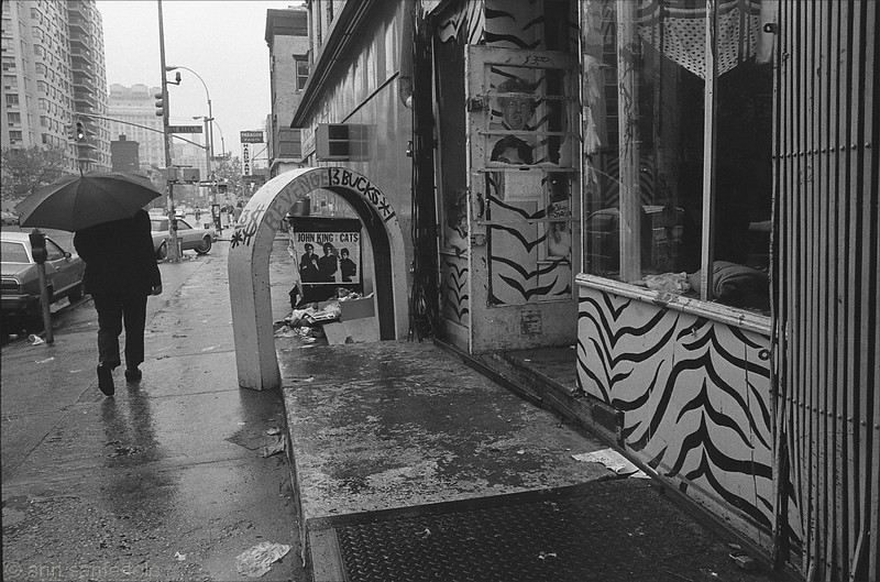 Revenge, 3 Bucks.  May, 1979 - 3rd ave just below St Marks Place.