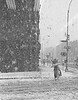 Snow stomr, east village  1980 - St. Parks place and 1st ave