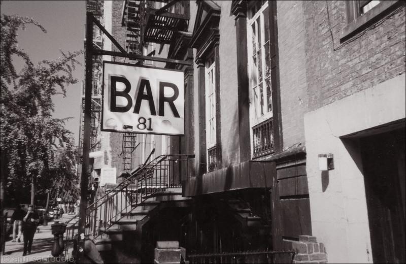 Bar 81 - 1998 sepiatoned