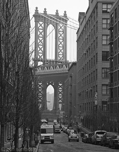Manhattan Bridge  Dumbo district of Brooklyn