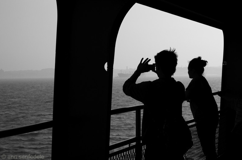 Snapshooting (on the Staten Island Ferry)