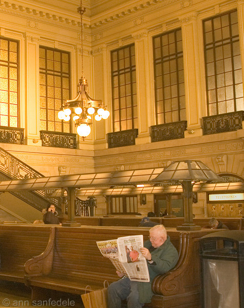 Hoboken Station Waiting Room