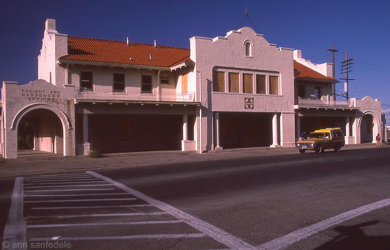 Santa Fe Rail Station, Prescott,Az