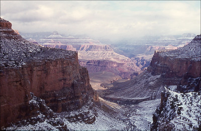 Grand Canyon - South Rim - December 1974