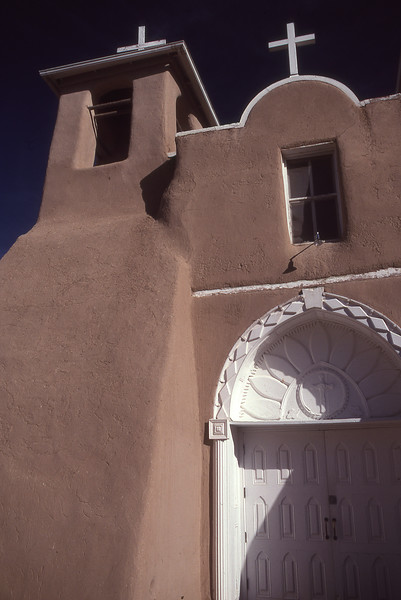 Front of THE church in Ranchos de taos