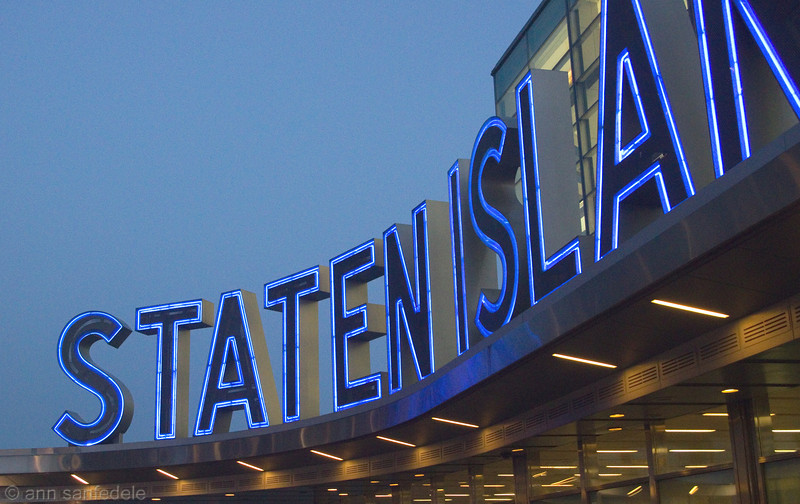 Staten island Ferry Terminal, lower Manhattan