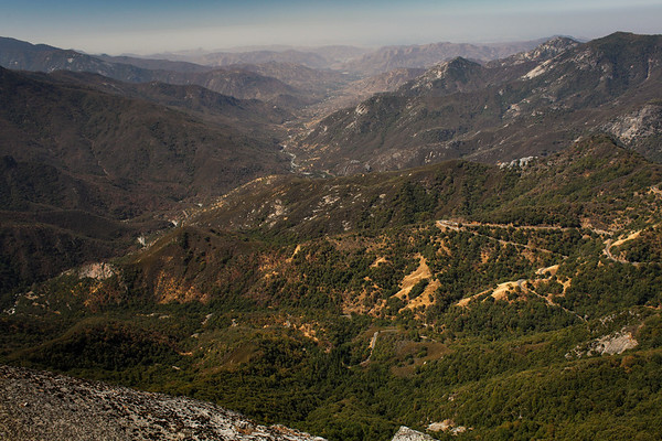 View from Moro Rock, Sequoia NP
