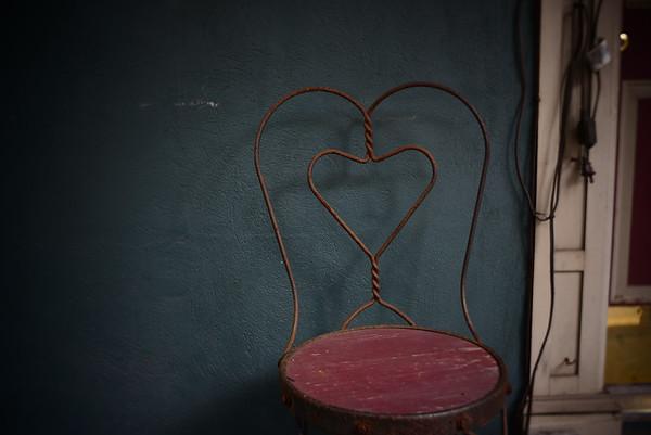 Love Seat--Jim Thorpe, PA
