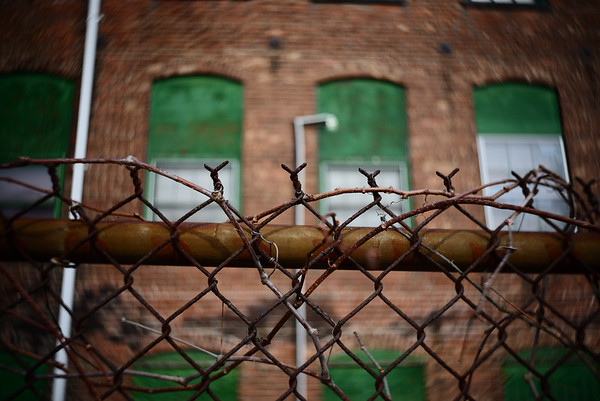 Rusted Fence & Warehouse---Boonton, NJ