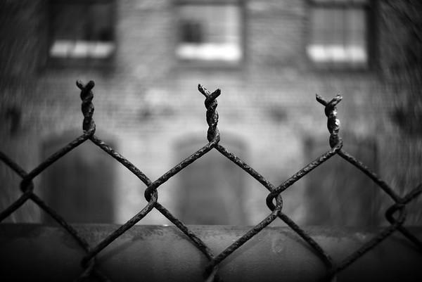 Rusted Fence---Boonton, NJ