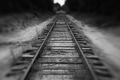 Tracks---Brownfield, Maine