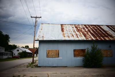 Rusted Roof---Fryeburg, Maine