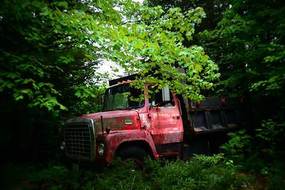 Abandoned Truck---Fryeburg, Maine
