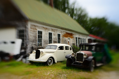 Old Cars & Barn---North Fryeburg, Maine