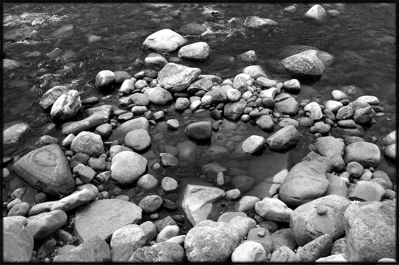Rocks in the Peabody River