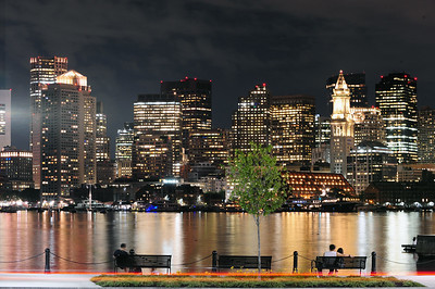 Downtown Boston from East Boston