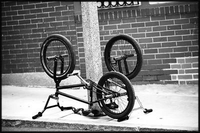 Bikes, North End, Boston