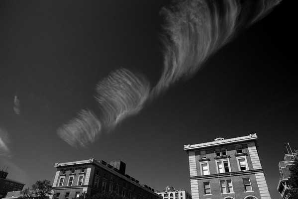 Clouds, Columbia University Campus