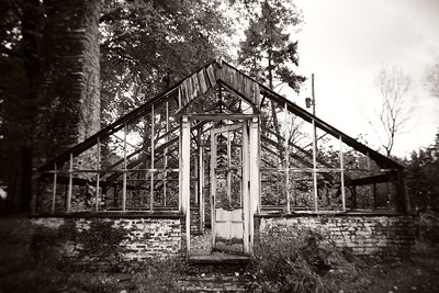 Abandoned Greenhouse---Valley Forge Park, PA