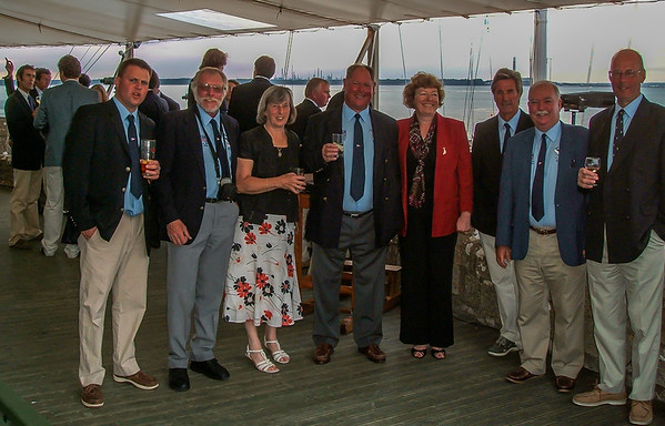 The crew of SYCORAX for the Swan European Championship 2009